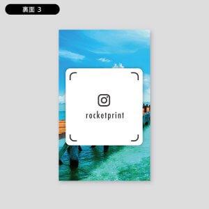 Instagram風名刺・プロフィール縦
